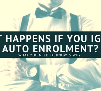 Ignoring auto enrolment blog image